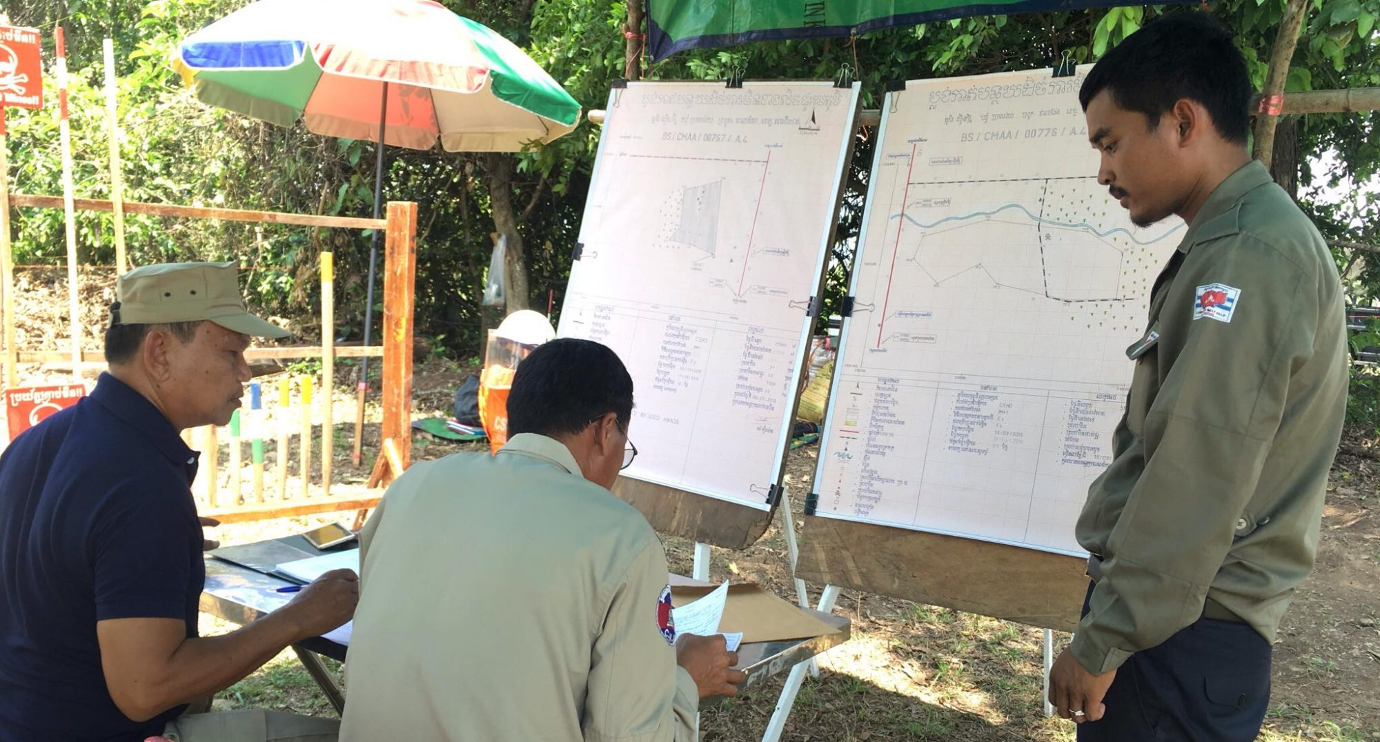 Explosive Ordnance Disposal Teams of Cambodian Self Help Demining